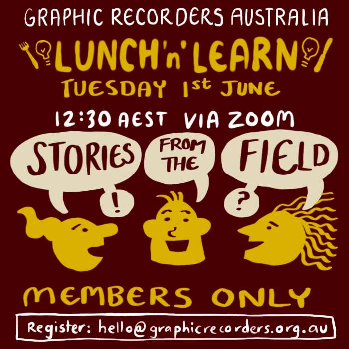 Lunch n Learn: Stories From the Field